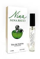 Мини парфюм Nina Ricci Nina Plain Green Apple  (Нина Риччи Плейн), 10 мл