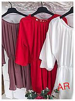 Комбинезонблузка и шорты клёш ,открытые плечи, фото 2