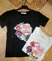 Костюм шорты и футболка коттон рисунок накатка, фото 3
