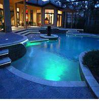 Подсветка разноцветная фонтана и бассейна герметичная в комплекте с блоком питания пол метр длинной