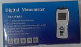 Цифровий диференціальний манометр FLUS ET-921 (0.01/±34.47 кПа) Ціна з ПДВ, фото 6