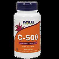 Витаминно-минеральный комплекс NOW C-500 (100 таб)