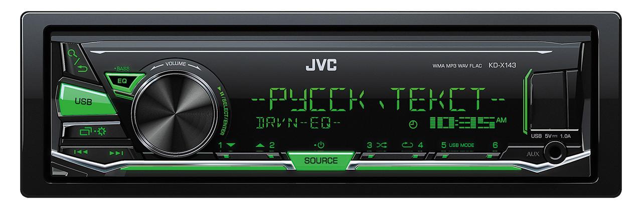 Оригинальная Автомагнитола JVC KD-X143