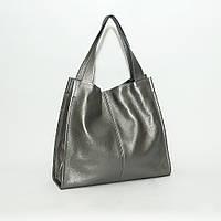Шкіряна сумка модель 12 нікель флотар, фото 1