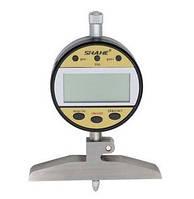 Глубиномер индикаторный цифровой Shahe 5328-100A (0-100 мм/0,01 мм), фото 1