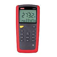 Двухканальный термометр UNI-T UT325 (-250~1767℃) с совместимостью с термопарами К,J,T,E,R,S,N типов, ПО, фото 1