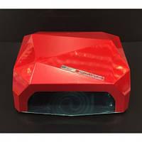 Гибридная УФ-лампа сенсорная LED+CCFL Diamond36W для гель-лаков с таймером ОРИГИНАЛ