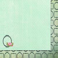 Двусторонний лист скрапбумаги от WoodChic - Нежное прикосновение - 6, 30,5x30,5 см, 1 шт