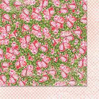 Двусторонний лист скрапбумаги от WoodChic - Нежное прикосновение - 5, 30,5x30,5 см, 1 шт