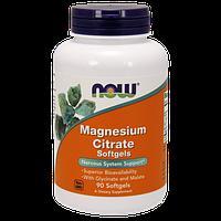 Витаминно-минеральный комплекс NOW Magnesium Citrate (90 порций) (90 капс)