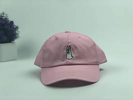 Кепка бейсболка Заяц (розовая)