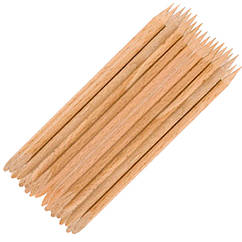 Палочки Апельсиновые Короткие 75 мм*3,5 мм, 25 шт. для Маникюра Педикюра