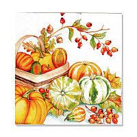Салфетка для декупажа  Katrin — Щедрый урожай, 33x33 см, 1 шт