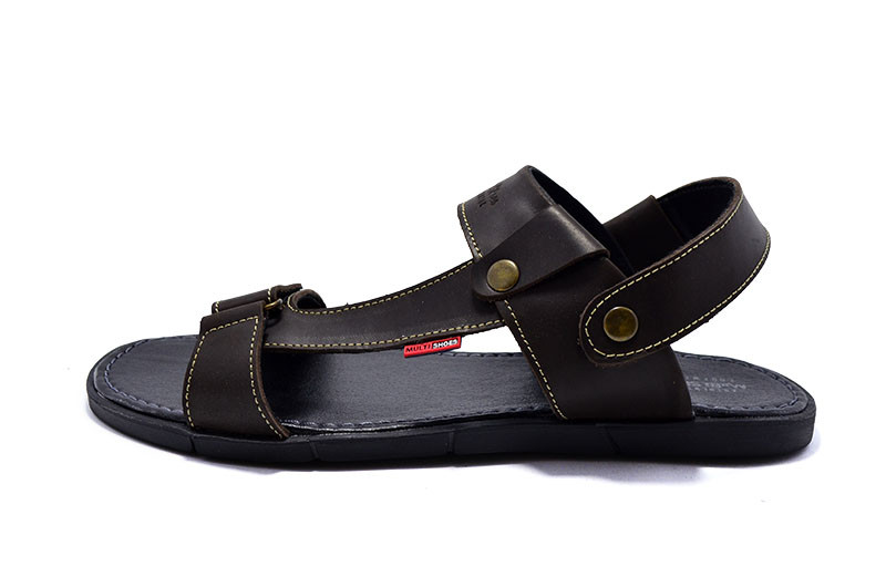 Босоножки мужские Multi-Shoes Denim 99325 Brown