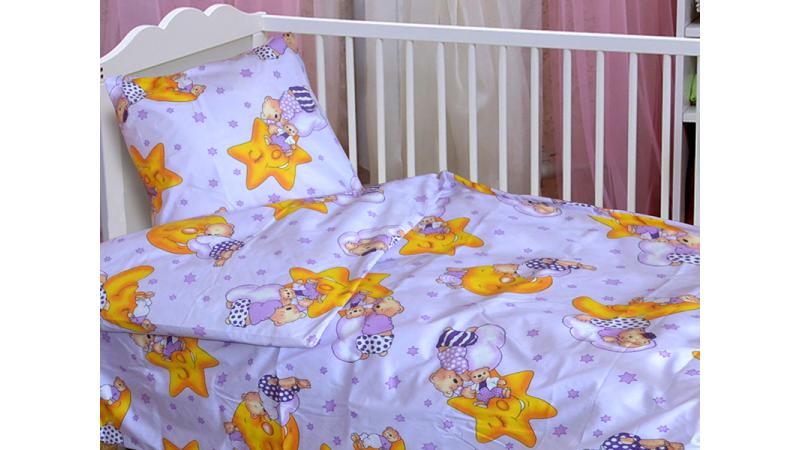 Детское постельное белье 110*140 (ранфорс), фото 2