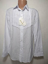Детская блуза 6-9 школьная 15751