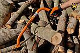 Лучковая пила 530 мм для старой и сухой древесины, Bahco 332-21-51, фото 2