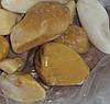 Мраморная галька желтая Сиена 25-40 мм
