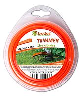 """Леска для триммера TRIMMER """"квадрат"""" 2,7x15 блистер, ZTK2715B"""