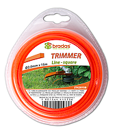 """Леска для триммера TRIMMER """"квадрат"""" 2,4x15 блистер, ZTK2415B"""