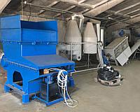 Шредер для дробления твёрдых отходов