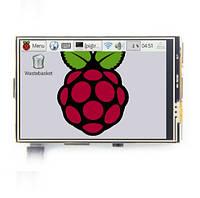 "Дисплей 3.5"" сенсорный Rasberry Orange pi"