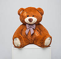 Медведь с латками 100 см (карамель), фото 1