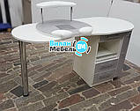 """Маникюрный стол """"Бастион"""" с вытяжкой, фото 9"""