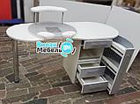 """Маникюрный стол """"Бастион"""" с вытяжкой, фото 10"""
