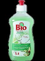 Бальзам для мытья посуды Авокадо и алоэ 500мл BIO