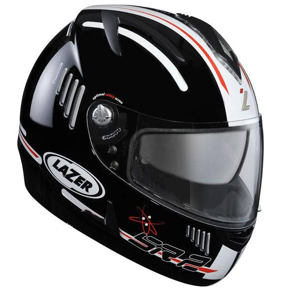 Шлем LAZER BREVA SR-2 (р.S) черно-белый