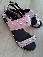 """Модные босоножки женские """"Laroshe""""  Распродажа розовый, 23 см, фото 1"""