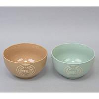 "Пиала керамическая для кухни ""Classic"" CB330, размер 8х13 см, объем 520 мл, 4 вида, тарелка для продуктов, тарелка на кухню, кухонная пиалка"