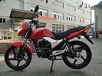 Мотоцикл HORNET R-150 (150куб.см), красный, черный, мокрый асфальт, фото 1