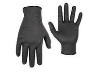 Черные одноразовые нитриловые перчатки Care 365 BLACK
