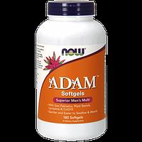 Витамины для мужчин NOW Adam (180 капс) (102772) Фирменный товар!