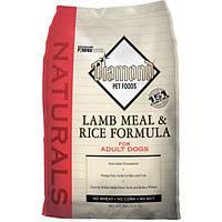 СУХОЙ КОРМ ДЛЯ СОБАК Diamond (Даймонд) Naturals Lamb Meal and Rice Adult  18,14 кг