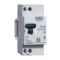 Дифавтомат RX3 2р 25A 30mA тип AC Legrand