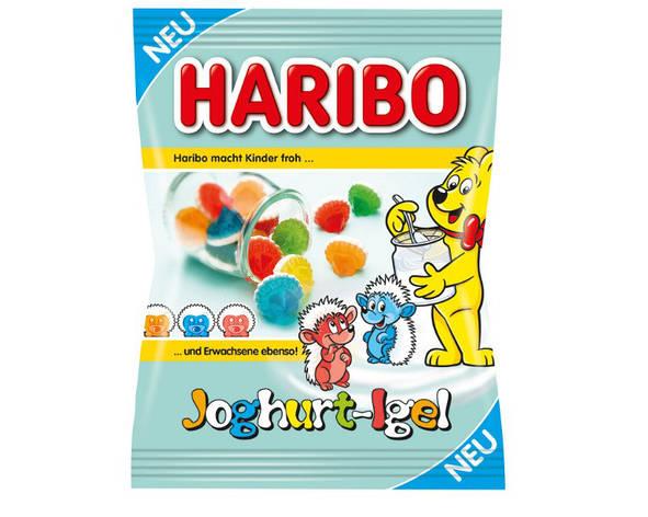 Жевательные конфеты Haribo Joghurt-Igel 175 г, фото 2