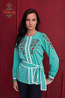 Жіноча вишита блуза Весняний букет, фото 1