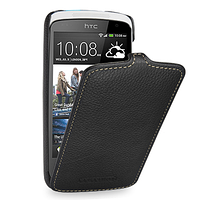 Чехол для HTC Desire 500 - Tetded кожаный флип