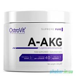 L-аргинин альфа-кетоглютарат OstroVit 100% A-AKG (200 г) аакг остовит Без добавок