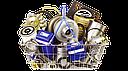 Пневморессора/Пневмоподушка со стаканом RD74157-05KP Rider; Аналоги 4157-05