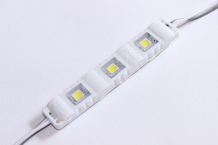 Светодиодный модуль Biom SMD5730 с линзой теплый белый