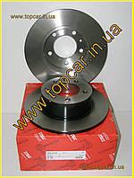 Тормозной диск задний Renault Master III 2.3DCi 10- однокат 305мм  TRW Германия DF6120