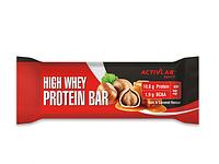 Протеиновый батончик ActivLab - High Whey Protein Bar (44 гр) орех-карамель
