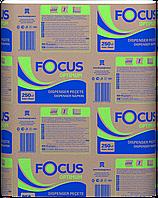 Бумажные листовые полотенца Z, двух слойные, 200 шт. в упаковке, Focus Optimum, пр-во Турция