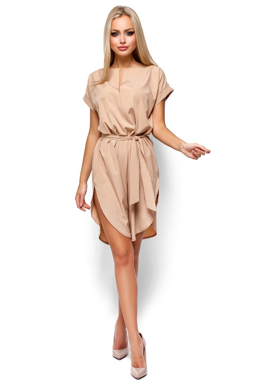 """Платье стильное женское """"Тринити Беж"""""""