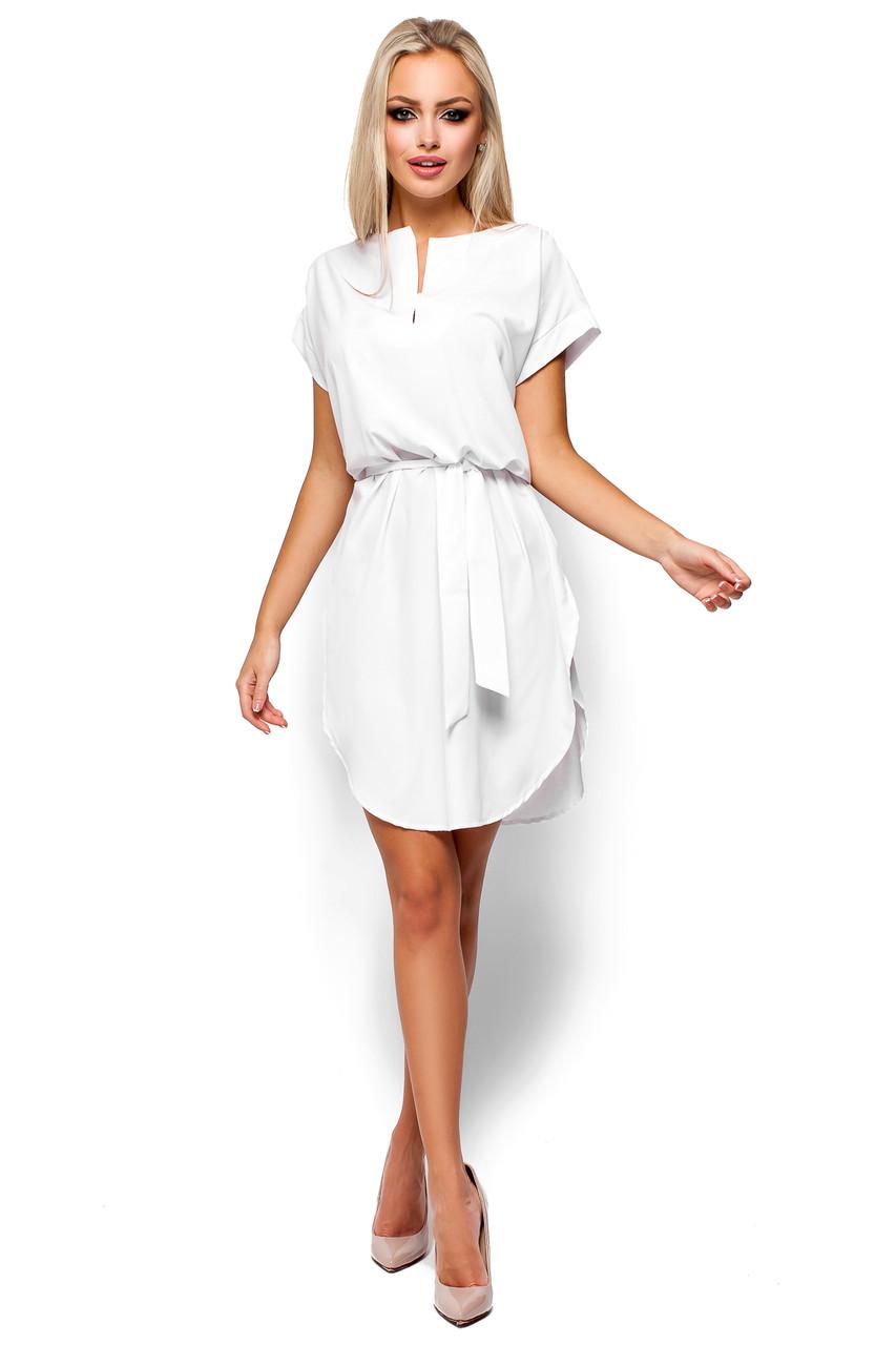 0b08b9280eb Белое женское платье