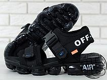 Мужские сандалии Nike Air VaporMax x Off White Sandals Black 850588-001, фото 3